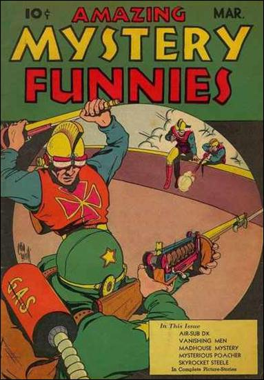 Amazing Mystery Funnies (1939) 3-A by Centaur Publications Inc.