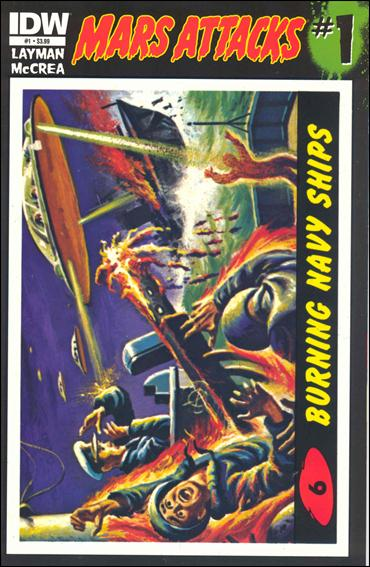 Mars Attacks (2012) 1-F by IDW