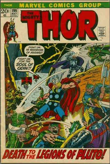 Thor (1966) 199-A by Marvel