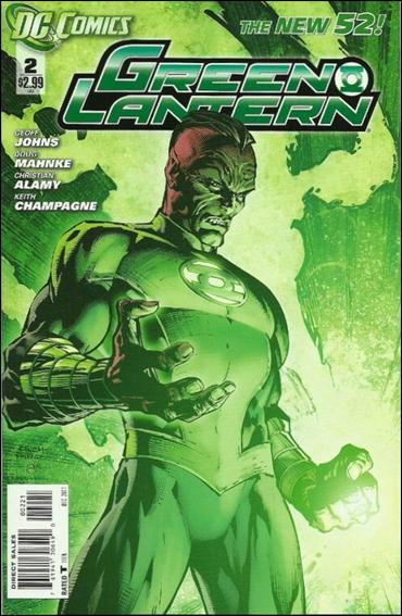 Green Lantern (2011) 2-B by DC