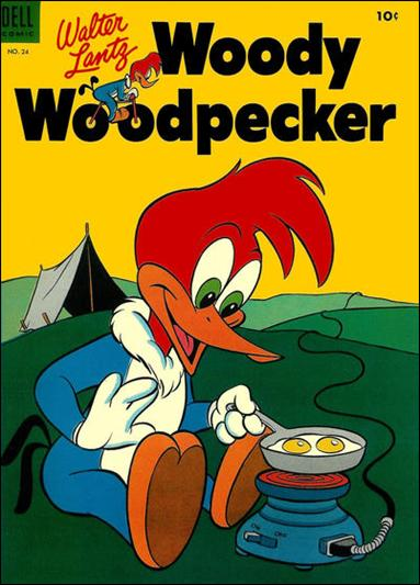 Walter Lantz Woody Woodpecker  24-A by Dell
