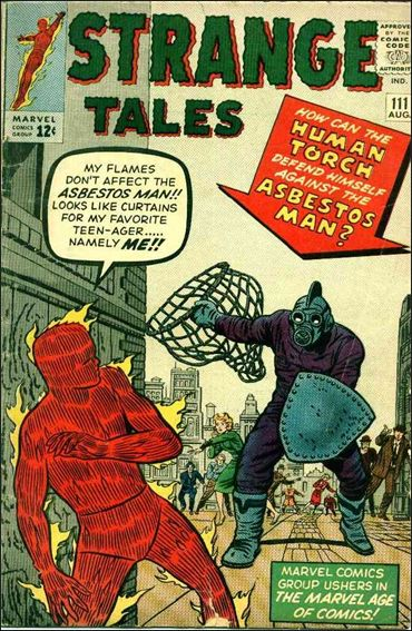 Strange Tales (1951) 111-A by Marvel