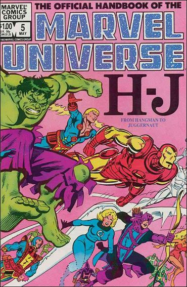 Official Handbook of the Marvel Universe (1983) 5-A by Marvel