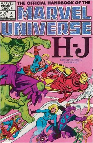 Official Handbook of the Marvel Universe (1983) 5-A