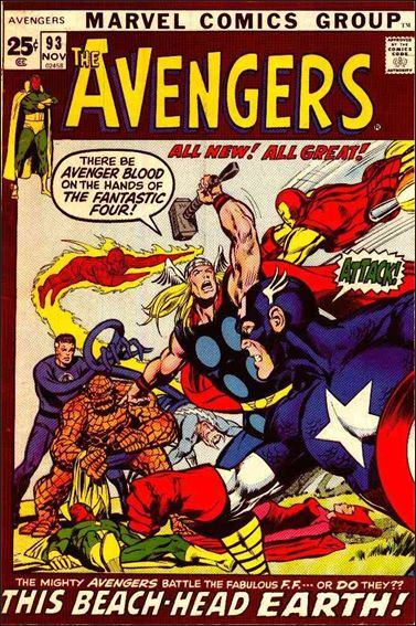 Avengers (1963) 93-A by Marvel