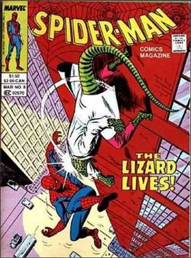 Spider-Man Comics Magazine 8-A by Marvel