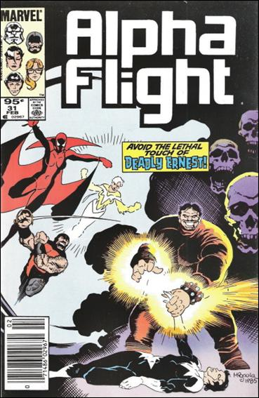 Alpha Flight (1983) 31-B by Marvel