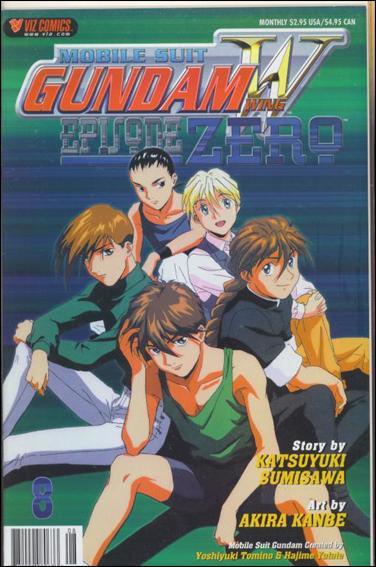 Gundam Wing: Episode Zero 8-A by Viz
