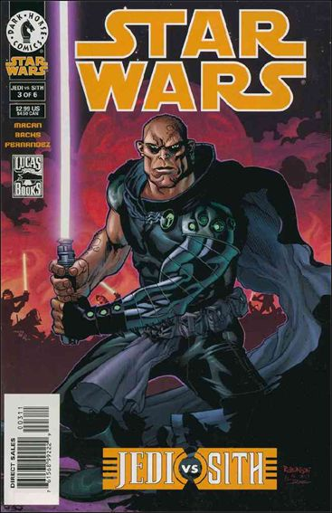 Star Wars: Jedi vs Sith 3-A by Dark Horse