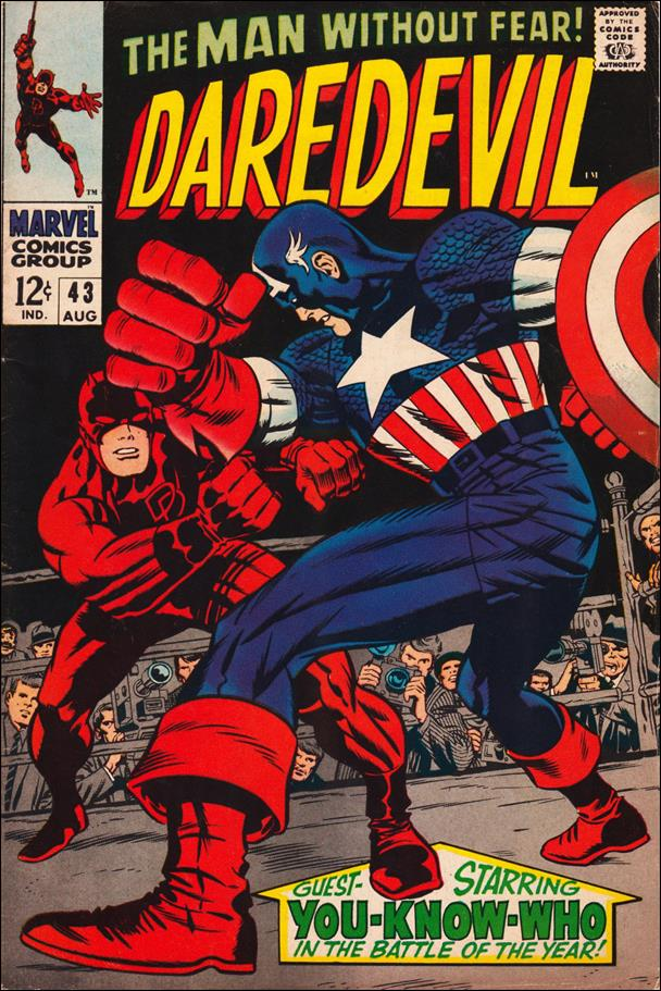 Daredevil (1964) 43-A by Marvel