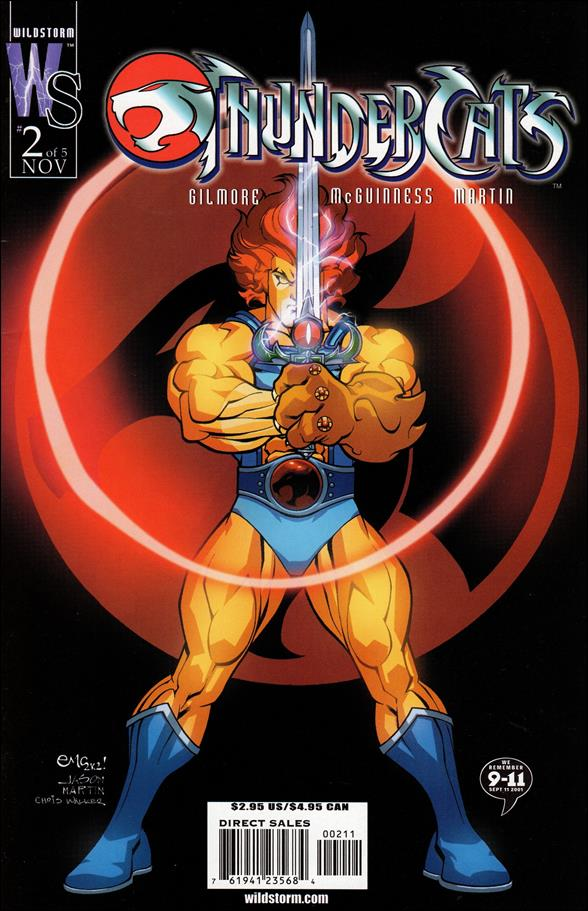 ThunderCats (2002) 2-A by WildStorm