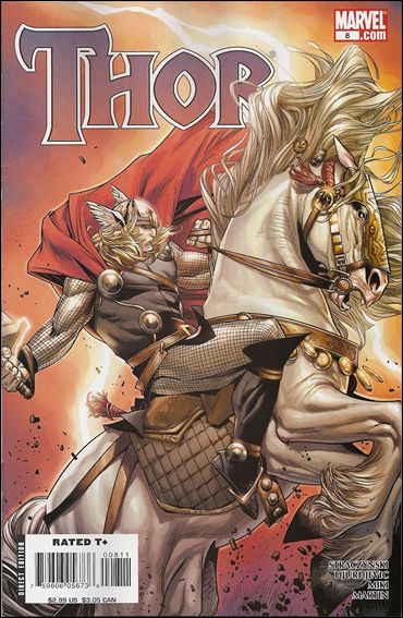 Thor (2007) 8-B by Marvel