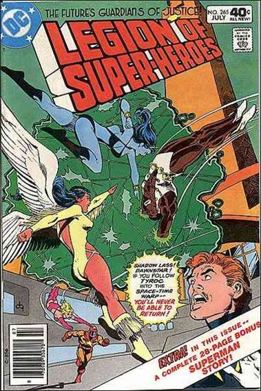 Legion of Super-Heroes (1980) 265-A by DC