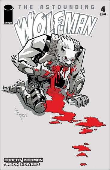 Astounding Wolf-Man 4-A by Image