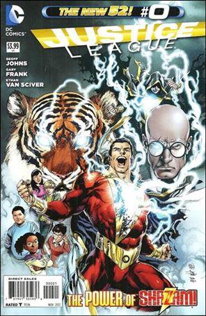 Justice League (2011) 0-D
