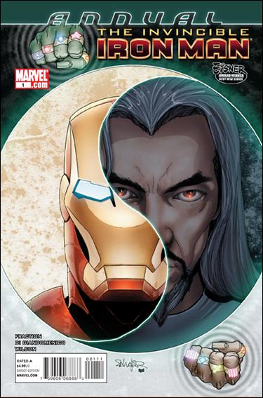 Invincible Iron Man Annual 1-A by Marvel