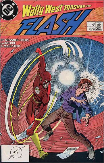 Flash (1987) 15-A by DC