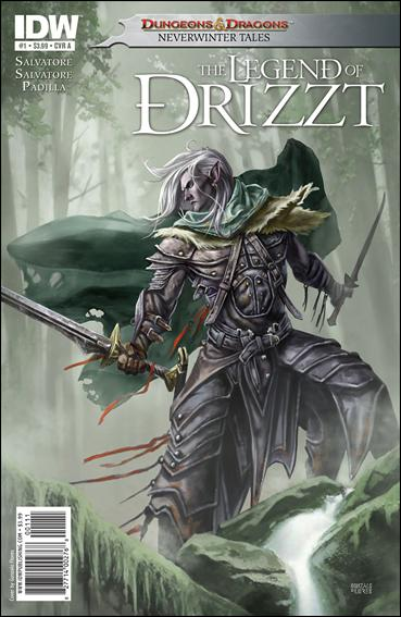 Dungeons & Dragons: The Legend of Drizzt: Neverwinter Tales 1-A by IDW