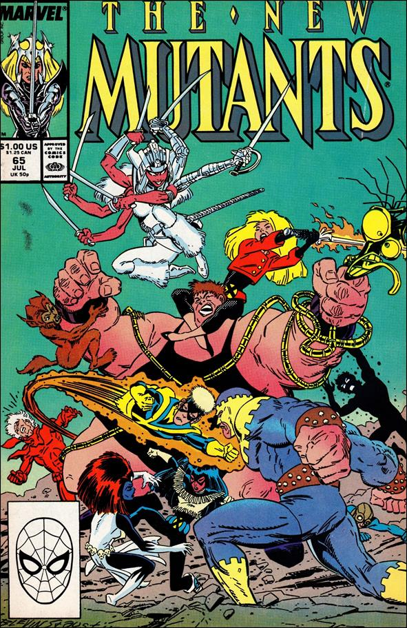 New Mutants (1983) 65-A by Marvel