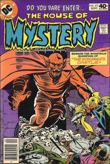 House of Mystery (1951) 272-A by DC