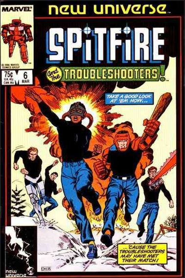 Spitfire and the Troubleshooters 6-A by Marvel