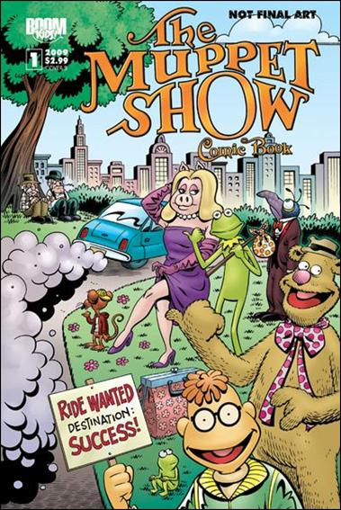 Muppet Show: The Comic Book 1-B by Boom! Kids