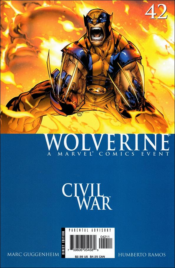 Wolverine (2003)  42-A by Marvel