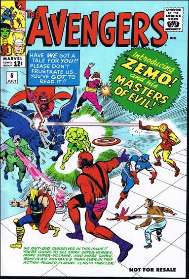 Avengers (1963) 6-C by Marvel