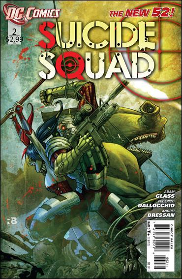 Suicide Squad (2011) 2-A by DC