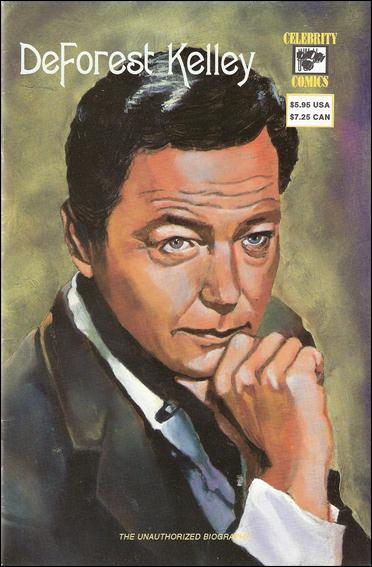 Deforest Kelley The Unauthorized Biography 1-A by Celebrity Comics