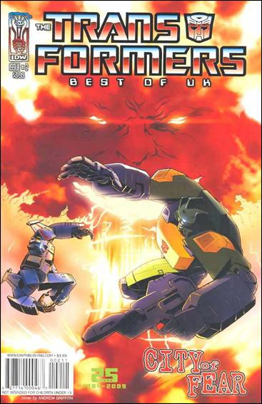 Transformers - Best of the UK - City of Fear 2-A by IDW