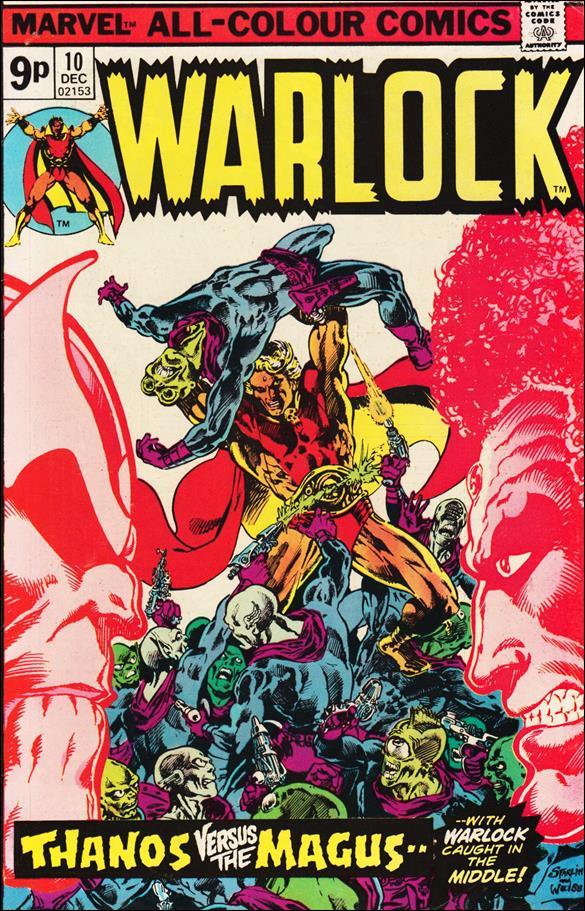 Warlock (1972) 10-B by Marvel