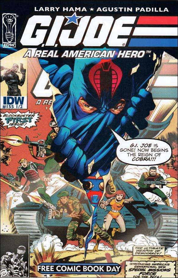 G.I. Joe: A Real American Hero 155 1/2-A by IDW