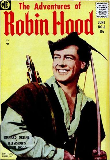 Robin Hood (1955) 6-A by Magazine Enterprises