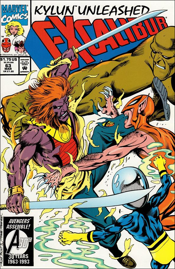Excalibur (1988) 63-A by Marvel