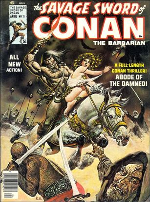 Savage Sword of Conan (1974) 11-A