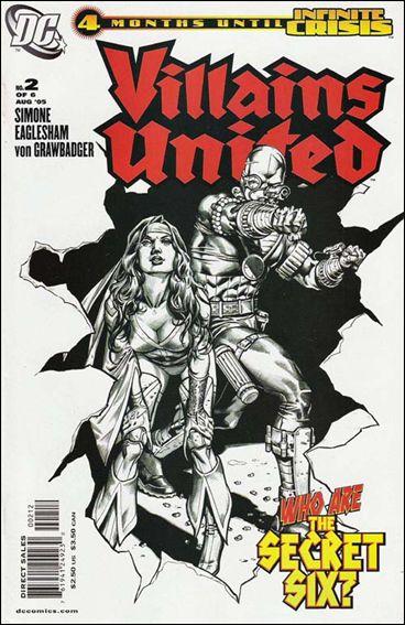 Villains United 2-B by DC