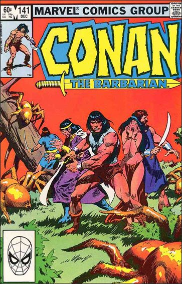 Conan the Barbarian (1970) 141-A by Marvel