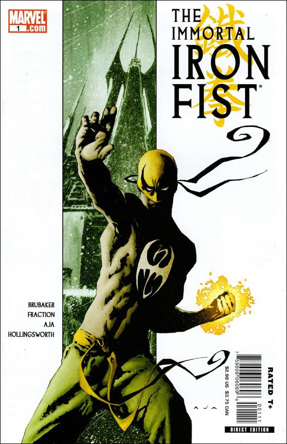 Immortal Iron Fist 1-A by Marvel