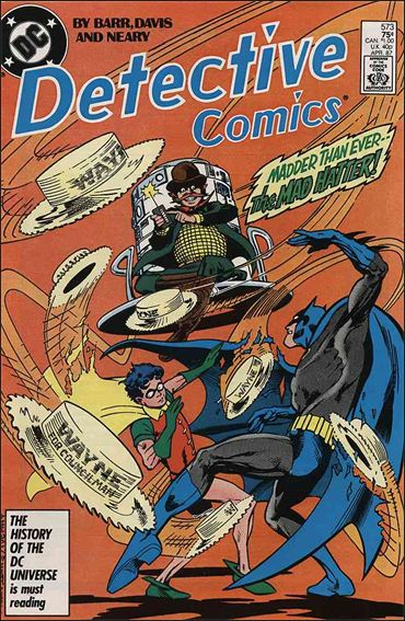 Detective Comics (1937) 573-A by DC
