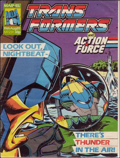 Transformers (UK) 231-A by Marvel UK