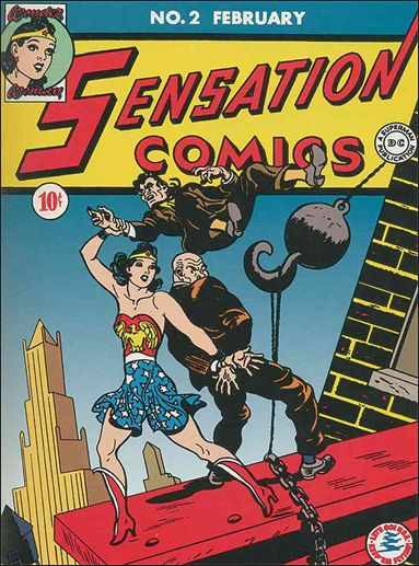 Sensation Comics (1942) 2-A by DC