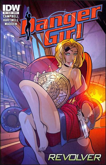 Danger Girl: Revolver 3-B by IDW