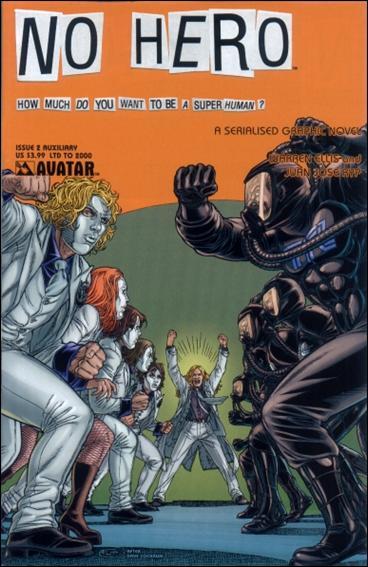 No Hero 2-D by Avatar Press