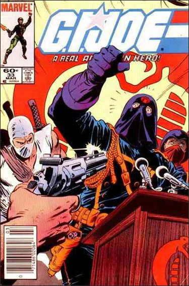 G.I. Joe: A Real American Hero 33-A by IDW