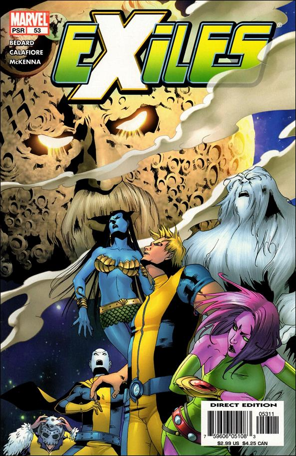 Exiles (2001) 53-A by Marvel