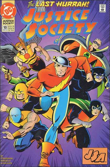 Justice Society of America (1992) 10-A by DC