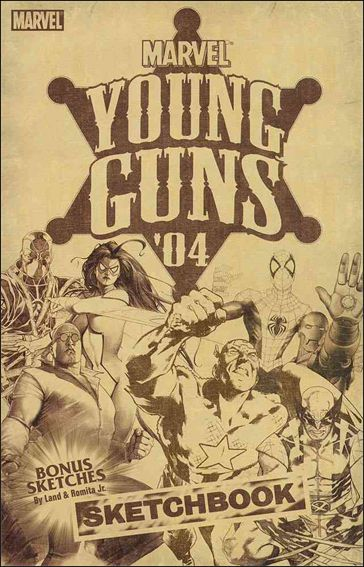 Young Guns Sketchbook 1-A by Marvel
