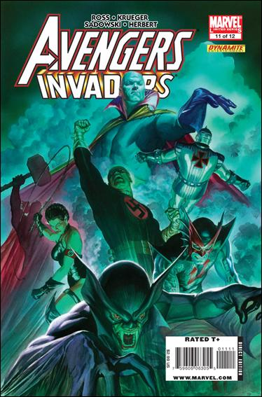 Avengers/Invaders 11-A by Marvel
