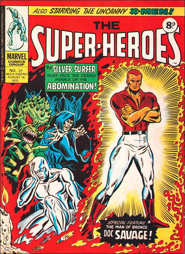 Super-Heroes (UK) 25-A by Marvel UK